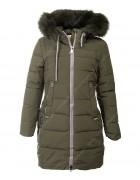 HL-606 хаки Куртка девочка  140-164 по 5