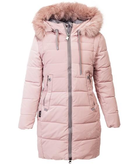 32527 пудра Куртка девочка  140-164 по 5