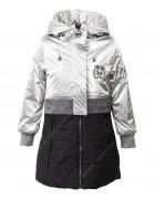 YS-1950 серебро Куртка девочка дем.122-146 по 5