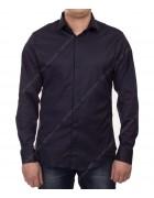 51212 d.blue Рубашка мужская дл.рукав 2XL-5XL по 4