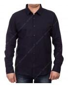 51313 d.blue Рубашка мужская дл.рукав 2XL-5 XL по 4
