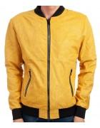 6706-3 желтый Куртка муж.замшевая S-2XL по 5