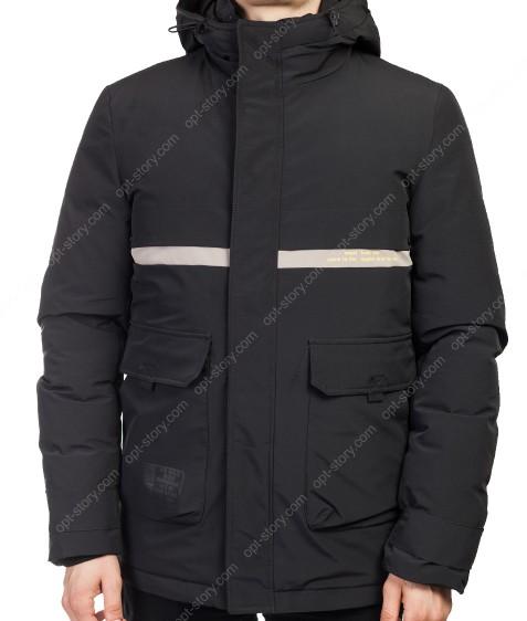 1912 черн. Куртка муж.XL-5XL по 5