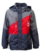 242D красная Куртка мальчик 140-164 по 5