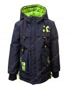 696# синяя Куртка мальчик 110-134 по 5