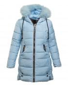 DX -8085 голуб  Куртка дев.146-170 по 5