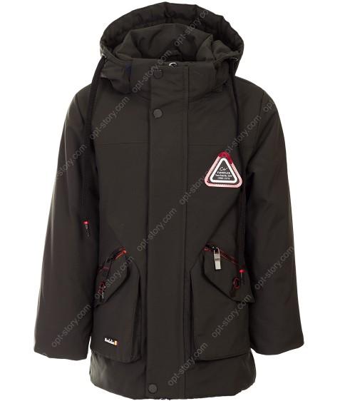 CX6808 хаки Куртка мальчик 104-128 по 5