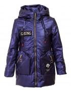 DX-9067 син Куртка девочка 116-146 по 6