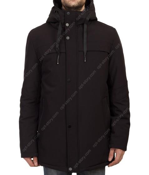 1275 черн. Куртка муж.термо M-3XL по 5