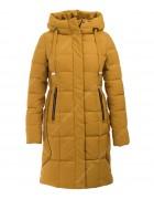 25078 желт. Куртка женская S-3XL по 6