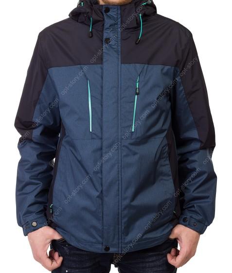 819# син Куртка мужская M-3XL по 5