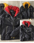 5821 красн. Куртка мужская S-XXL по 5