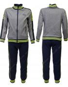 2531 серый Спортивный костюм мальчик 8-16 по 5