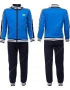 2531 синий Спортивный костюм мальчик 8-16 по 5