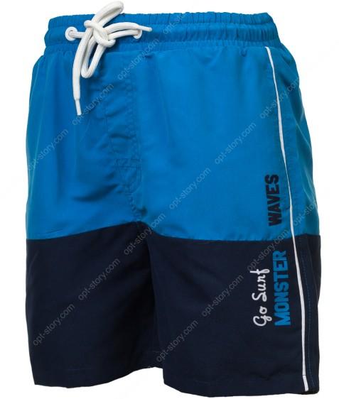 BTK-0350 синий Шорты мальчик 98-128 по 6