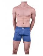1099 Трусы мужские светло-синие размер L по 3  штуки