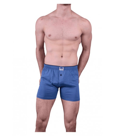 1099 Трусы мужские светло-синие размер M по 3  штуки