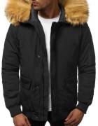 201901-2 черн. Куртка мужская S-2XL по 5
