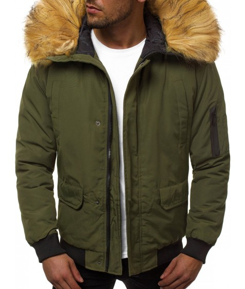 201901-5 хаки. Куртка мужская S-2XL по 5