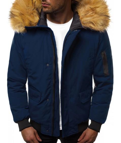 201901-7 т.син. Куртка мужская S-2XL по 5
