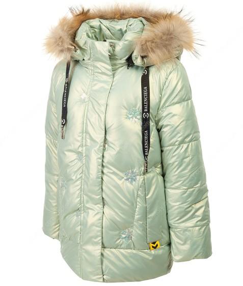 YX-2169 мята Куртка девочка 128-152 по 5