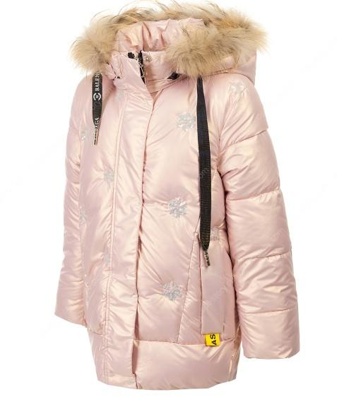 YX-2169 розовый Куртка девочка 128-152 по 5