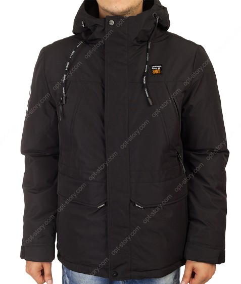 21-055#1 черн. Куртка муж 46-54 по 5