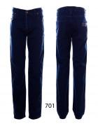 701 синий Джинсы мужские 32-40 по 6шт (33)