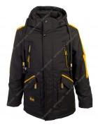 562 черн. Куртка мальчик 134-158 по 5