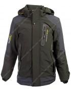 565 хаки Куртка мальчик 134-158 по 5