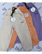 826 оранж Спорт штаны дев 2-10 по 5