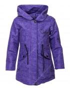 9905 фиолет Куртка девочка 134-158 по 5