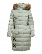 1722Lm салатовый Куртка девочка 140-164 по 5