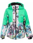 B4342 зеленый Куртка девочка 128-170 по 4