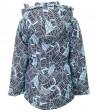 H27-011 голубой Куртка девочка 116-140 по 5