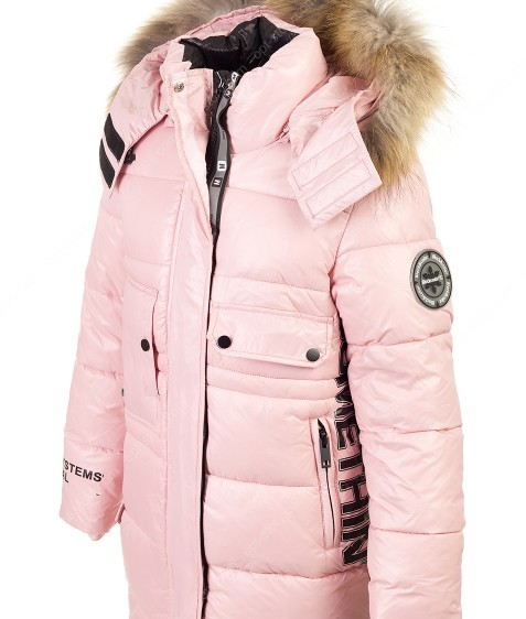 HL-A-9 пудра Куртка девочка 140-164 по 5