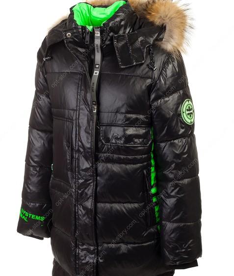 HL-A-9 черный Куртка девочка 140-164 по 5
