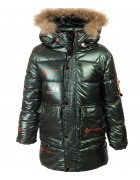 LD-837# хаки Куртка маль. 140-164 по 5