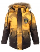 W-36 желтый Куртка мальчик 122-146 по 5