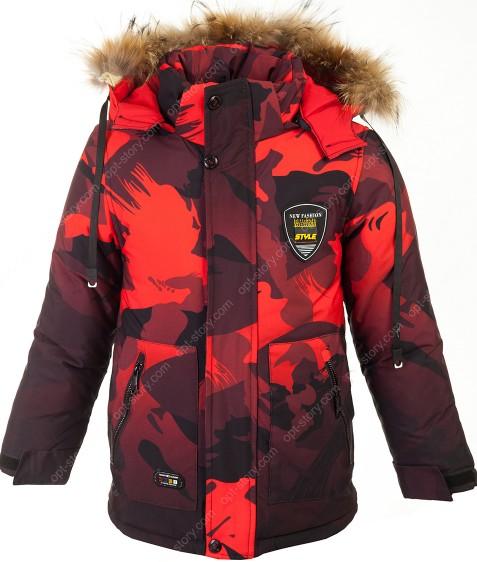 W-36 красный Куртка мальчик 122-146 по 5