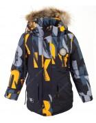 W-37 желтый Куртка мальчик 128-152 по 5
