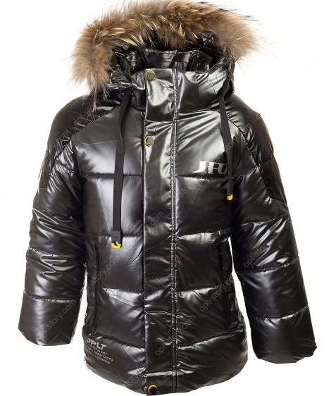 HM-223 серый Куртка маль. 122-146 по 5 шт