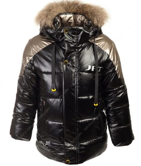 HM-223 черный Куртка маль. 122-146 по 5 шт