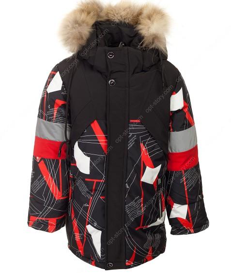 M-801 красный Куртка маль. 110-134 по 5 шт