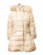 1624# молочный Куртка девочка 110-134  по 5шт