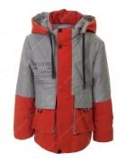 GL-01#  красная  Куртка мальчик 104-128 по 5