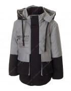 GL-01#  черная Куртка мальчик 104-128 по 5
