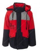 GL-09#  красная Куртка мальчик 110-134 по 5