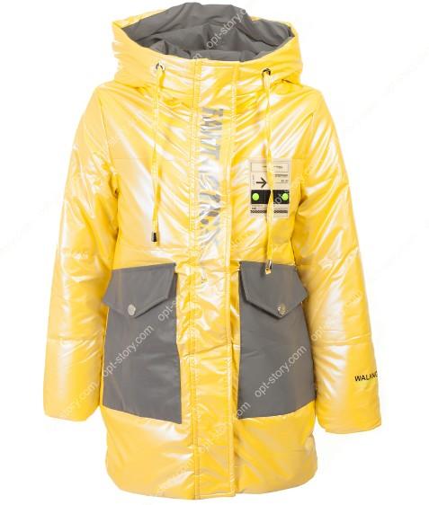 HL-609 желтая Куртка девочка 140-164 по 5