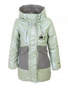 HL-609 зеленая Куртка девочка 140-164 по 5